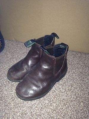 Dublin child's brown riding boots size 11