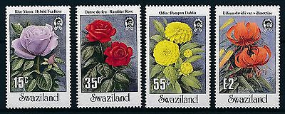 [K44805] Swaziland 1987 Flowers Good set of stamps very fine MNH