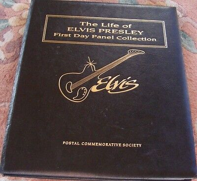 Elvis Presley, First Day Panel Collection, Life Story & Photos
