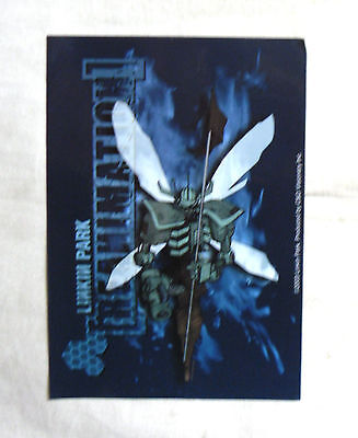 RARE Vinyl STICKER Decal LINKIN PARK Reanimation Logo S2589 12.5cm x 9cm Rock
