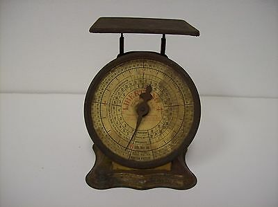 Antique Postal Scale Triner Liberty No. 4   - 1906 Patent