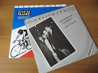 "Kraftwerk - Showroom Dummies / Tour De France  - 2X 12"" Records - Ex+"