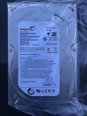 Replacement Seagate Pipeline HD 500GB Hard Drive for BELL 9241 9242 Receivers