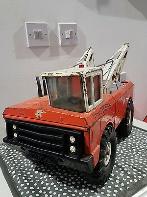 Vintage Large Tonka Tow Truck Great Condition