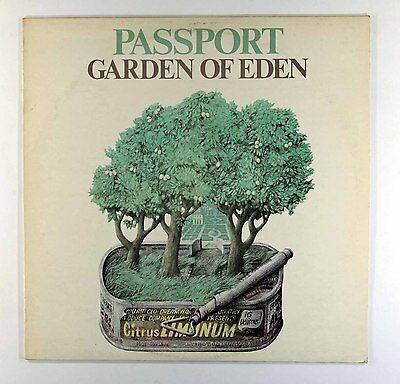 Passport - Garden Of Eden (Vinyl LP - UK 1st Pressing)