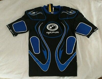 Rugby Protection Shoulder Pads by Optimum Size Extra Large mens.