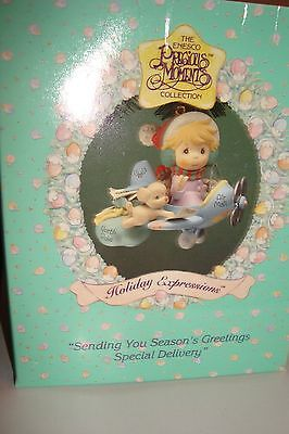 Sending You Season's Greetings Special Delivery 1994 Precious Moments Ornament