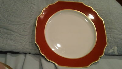 Mottahedeh CINNABAR Service Plate NWT $260 - 12""