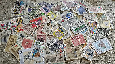 Approx 300 Europe > Czech Republic, Czechoslovakia Stamps Off Paper