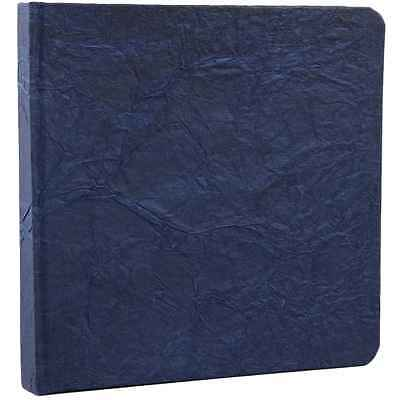 Square Paper Bound Journal Dark Blue Handmade Blank Notebook Sketchbook 7 X 7