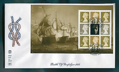 2005 The Battle of Trafalgar Prestige Booklet Panes x 4