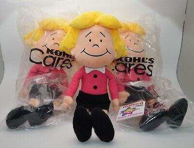 3 CLIFFORD the Big Red Dog Kohl's Cares For Kids Plush Doll EMILY ELIZABETH NEW
