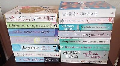 Huge Collection of 15 Chick Lit Books Womens Paperbacks Job Lot Holiday Reading