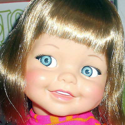 Immaculate Vintage Ideal Giggles Doll Unplayed With, perfect repetitive giggles!