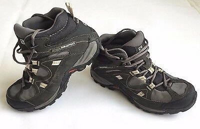 Salomon Contagrip Goretex Walking Boots - Women's - Hiking - Size 6 - UK