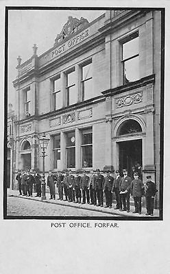 Post Office, Forfar (with staff)