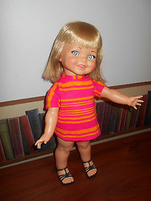 Vintage Collectible Ideal Giggles doll ~ Still giggles!~