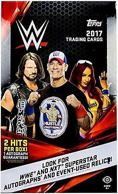 2017 Topps WWE Wrestling Sealed Hobby Box - 24 packs per box