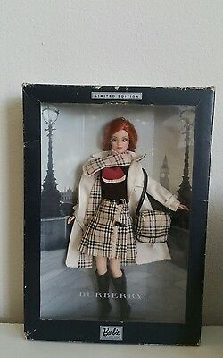 Limited Edition Burberry 2000 Barbie Doll