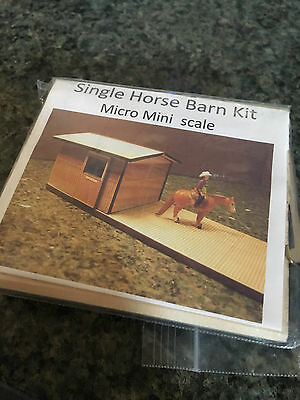 Mini BARN KIT for MINNIE WINNIE scale models