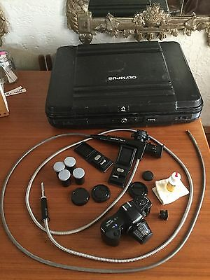 Olympus If8C5-15 Fiberscope Borescope & Case