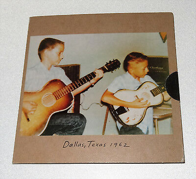 The Vaughan Brothers Dallas Texas 1962 U.S. Promo cd Stevie Ray Jimmie BLUES
