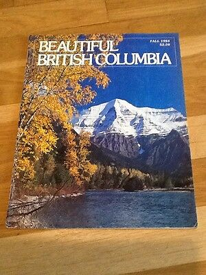 BEAUTIFUL BRITISH COLUMBIA - Fall 1984 Rivers Inlet Fort Steele