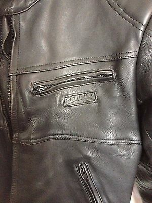 Rhino Leather Motorcycle Jacket Mens 46
