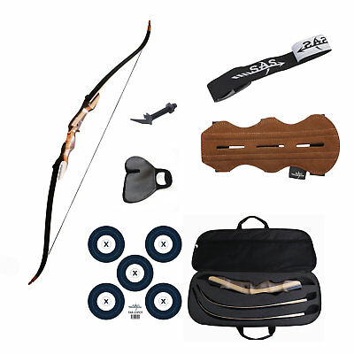 "Samick Sage Traditional Takedown 62"" Recurve Bow Full Accessories Package"