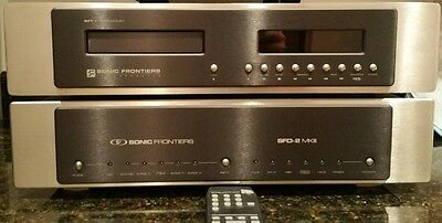 SONIC FRONTIERS SFT-1 CD TRANSPORT with box & upgrades