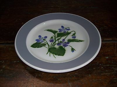 Canadian Pacific Hotelware Railroad  Plate Violets Sovereign Potters