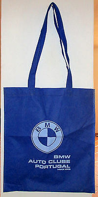 BMW Soft Hand Carrier Bag Auto Clube Portugal Authorised Partner