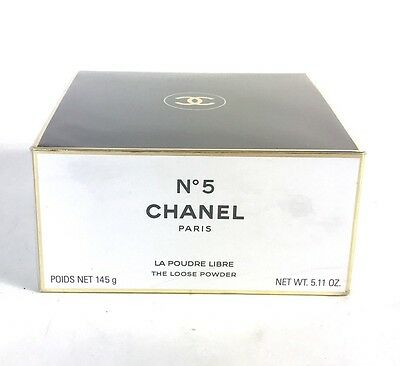 CHANEL Nº5 The Loose After Bath Body Powder 5.11oz/145g***NIB***FACTORY SEALED**
