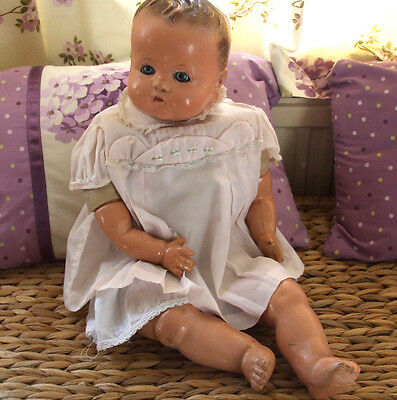 Vintage Baby Doll 1930s IDEAL Doll Really Sweet!