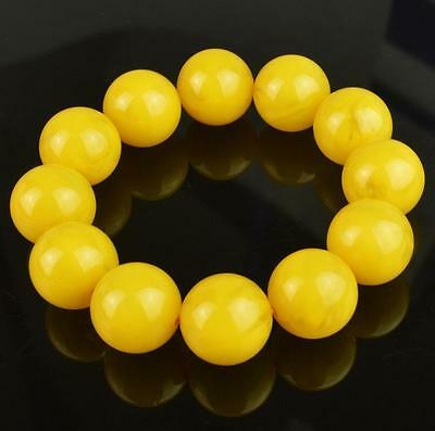 Natural BALTIC AMBER Beeswax Fashion Boutique Wax Bracelet Collection 20MM
