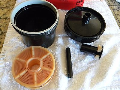 PATERSON 4 System 35mm 126 Film Developing Tank and Reel - Made in England