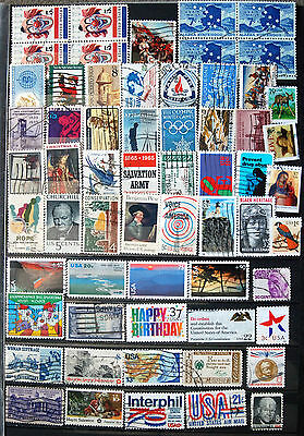 Great Collection of Different Used USA Stamps.