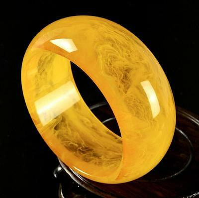 Natural BALTIC AMBER Beeswax Fashion Women Boutique Wax Bracelet Collection