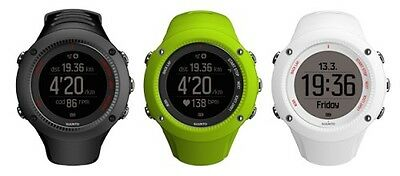 Suunto Ambit 3 Run GPS Running Watch with HRM Black