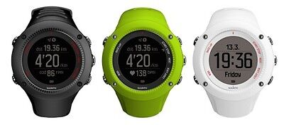 Suunto Ambit 3 Run GPS Running Watch with HRM Lime