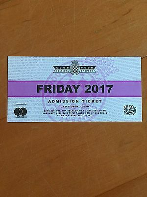 Goodwood Festival of Speed Ticket - Friday 30th June