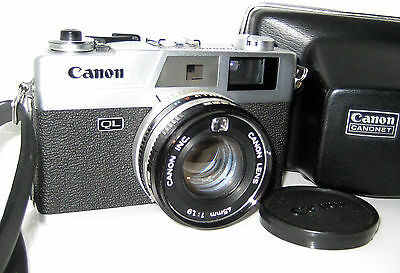 Canon Canonet Ql19 Ql 19  New Model Serviced 100% Funzionante Full Working