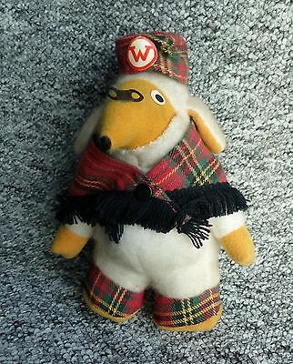 """Great Uncle Bulgaria Womble 6"""" Vintage Soft Toy by Pedigree 1970s"""