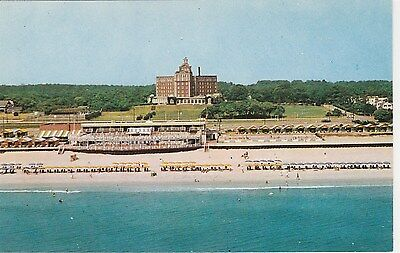 The Cavalier Beach and Cabana Club Virginia Beach VA Vintage Postcard Chrome