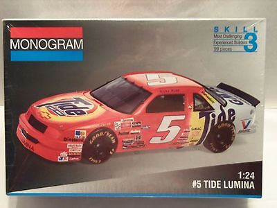 #5 TIDE LUMINA 1993 MONOGRAM MODEL KIT #2440 1:24 skill level 3 FACTORY SEALED