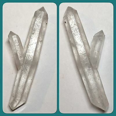 Peculiar Shapes Clear Quartz Crystal Mined In Sichuan China 6g