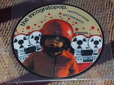 "The Incognito Pop: The Incognito Pop, 7"" Picture Disc 1999"