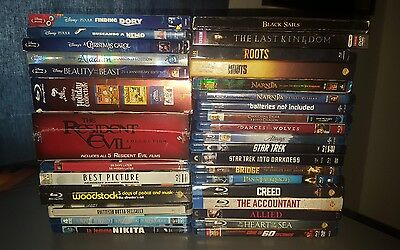 46 Blu-Ray/dvd Lot- Disney, Sets, Tv Shows - Free Shipping New & Used