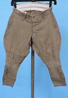 Vintage 1930'S Child'S Cotton Twill Riding Pants / Sporting