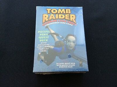 Tomb Raider: Pacific Peril (COLLECTIBLE CARD GAMES) New SEALED!